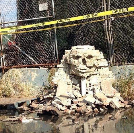 Banksy's Latest Sphinx Sculpture Sparks Total Anarchy in Queens | Art | Scoop.it
