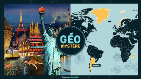 Géo mystère | Jeux éducatifs | Scoop.it