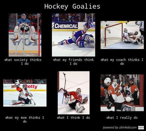 Hockey Goalies | What I really do | Scoop.it