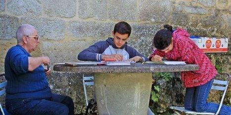 Les évasions d'automne du Pinceau magique - Sud Ouest | Revue de Presse et Web Port-Sainte-Foy-et-Ponchapt | Scoop.it