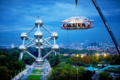 Dinner In The Sky At The Amazing Hanging Restaurant | Restaurants & Food Guide | Scoop.it