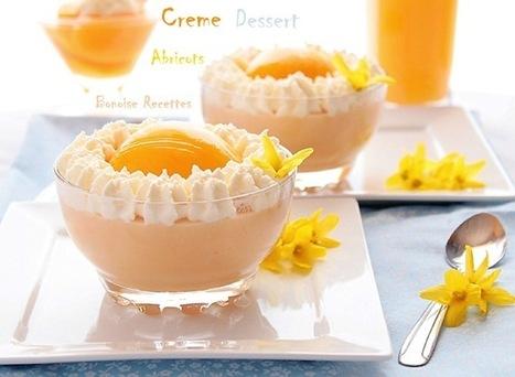 recette de creme dessert a l'abricot   cuisine algerienne et recettes de ramadan   Scoop.it