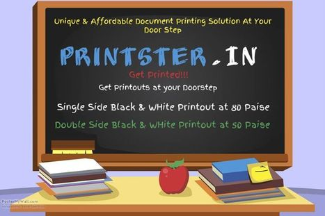 Printster - Online Document Printing Store | Best Online document Printing services Delhi NCR | Scoop.it