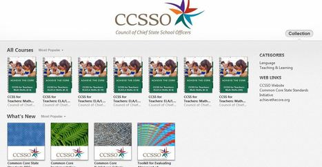 CCSSO itunes U: Resources for Common Core ELA K-12 | K-12 Research, Resources and Professional Learning Materials for English Language Arts | Scoop.it