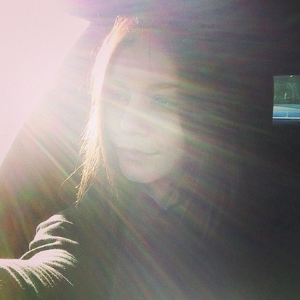 Sunbeams pouring out to say hello. #betouched... | Vanessa Hudgens | mona | Scoop.it