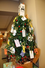 "Library seasonal fundraiser turns out to be ""tree-mendous"" idea 