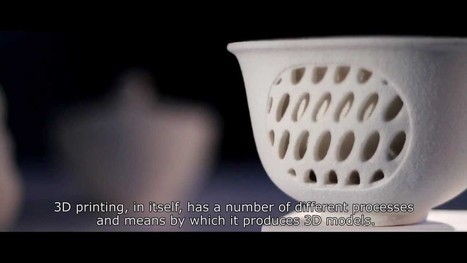 3D Printing in Ceramics - YouTube | Education Technology | Scoop.it