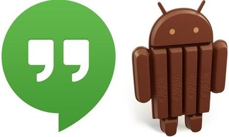 Google Hangouts potrebbe aggiungere il supporto agli SMS con Android 4.4 | Android News Italia | Scoop.it