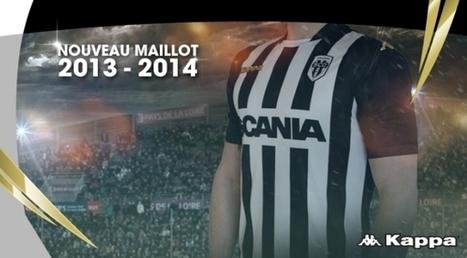 Le nouveau maillot domicile du SCO d'Angers 2013/2014 | Maillots 2014 2015 | Scoop.it