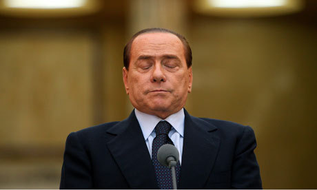 Old foe closes in on Silvio Berlusconi after 15-year feud - The Guardian | Movin' Ahead | Scoop.it