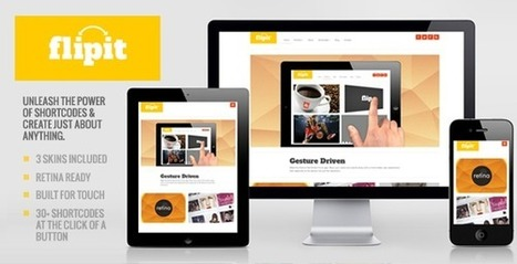 Flipit Theme - Multipurpose WordPress Theme | Marketing Done Right | Scoop.it