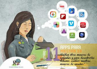 AYUDA PARA MAESTROS: 46 Apps para docentes 3.0 | Tecnologia, Robotica y algo mas | Scoop.it