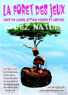 Bidon - LA FORET DES JEUX | Tourisme en Ardèche | Scoop.it
