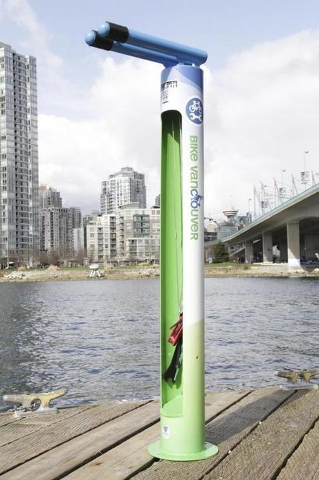 Vancouver. Ce drôle de tube pour réparer les vélos | RoBot cyclotourisme | Scoop.it