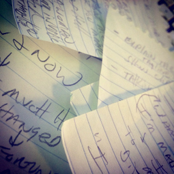 11 Ways to Turn Random Thoughts and Scribbled Notes Into a Project | Photography Now | Scoop.it