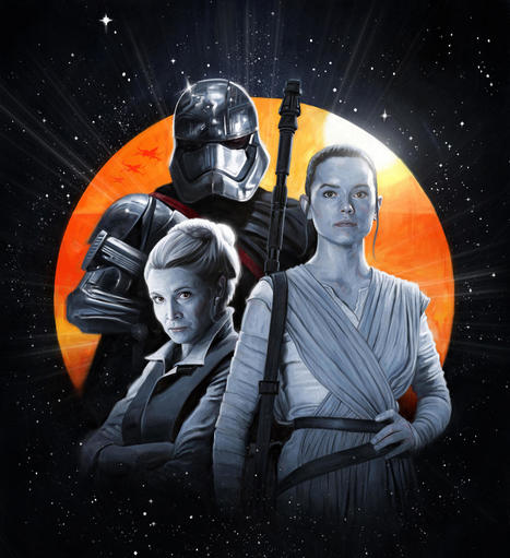 The women of 'Star Wars' speak out about their new Empire | Adventures in Science Fiction | Scoop.it