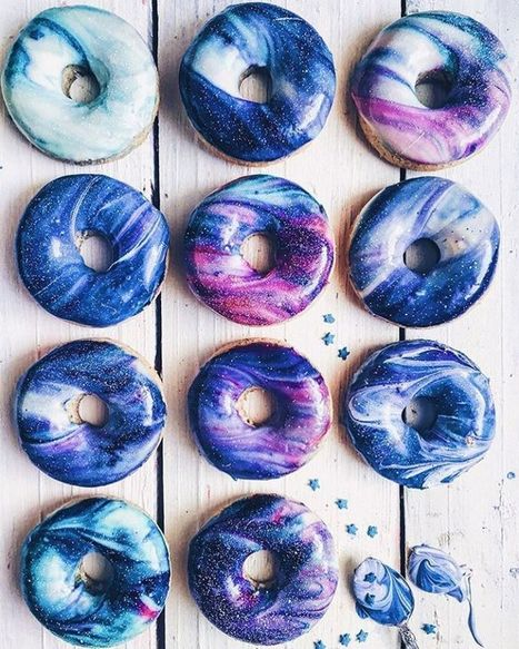 Glittering Galaxy-Inspired Donuts Are a Delicious Way to Enjoy the Stars | Le It e Amo ✪ | Scoop.it