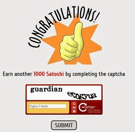 Earn Bitcoins,3000 satoshi for day and super referall program ~ Earn free Bitcoins quickly | Earn free Bitcoins Euros and Dollars | Scoop.it