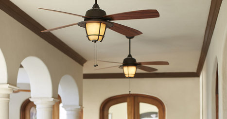 Difference Between an Indoor & Outdoor Ceiling Fans - A Use Guide by DelMarFans.com | Ceiling Fans | Scoop.it