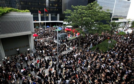 Hong Kong protest over school 'brainwashing' by China  - Telegraph | AP Human Geography Herm | Scoop.it