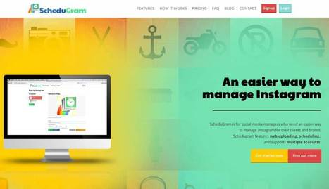 Schedugram. Outil de gestion pro pour Instagram | Les outils de la veille | Les outils du Web 2.0 | Scoop.it