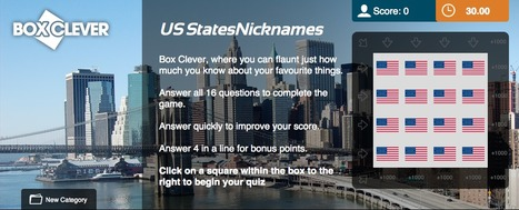 US Nicknames Quiz | Box Clever | QuizFortune | Quiz Related Biz - Social Quizzing and Gaming | Scoop.it