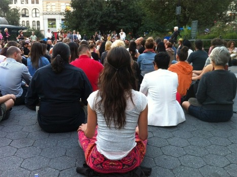 Thich Nhat Hanh's Meditation Flash Mob Descends on Manhattan | Tricycle | health | Scoop.it