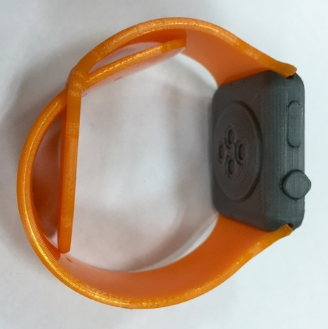 Flexible Printing Example on the V3 Q Extruder - Rapide Lite 200XL | 3d printers and 3d scanners | Scoop.it
