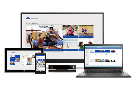 Microsoft OneDrive launches with Dropbox-like bonus storage and new Android ... - The Verge | Open Source | Scoop.it