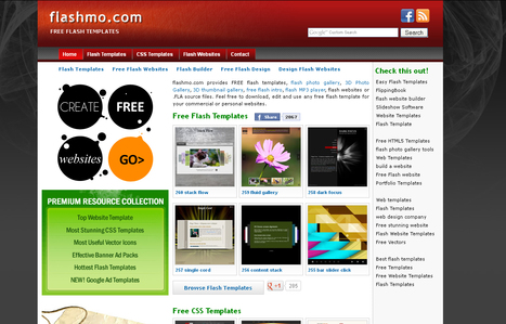 flash website template | 23 Cool New Features in Adobe Photoshop CS6 | Scoop.it