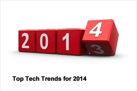 Top 5 Technology Trends of 2014 - Makes Our Lives Mush Easier | iphone application development | Scoop.it