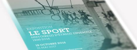 Le numérique s'invite dans l'exposition « Le sport : histoire(s) d'être(s) ensemble » - Réseau Canopé | Actualités du Musée national de l'éducation | Scoop.it