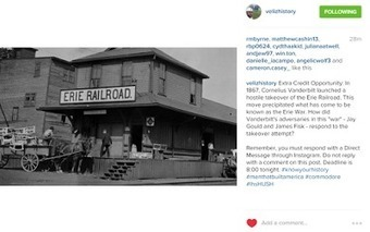 Three Examples of Using Instagram in K-12 Settings | Web tools to support inquiry based learning | Scoop.it