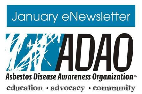 Asbestos Disease Awareness Organization (ADAO) January 2013 eNewsletter | Asbestos and Mesothelioma World News | Scoop.it