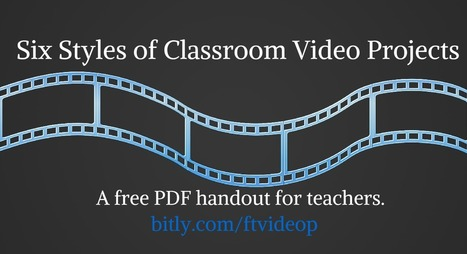 Practical Ed Tech Tip of the Week - Six Styles of Video Projects and Tools for Creating Them | reading | Scoop.it