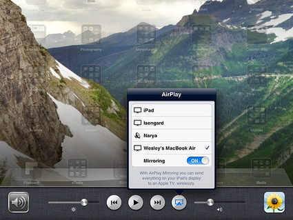 Mirror an iPad2 on your Mac Laptop | iPad with Wes | Ancient History | Scoop.it