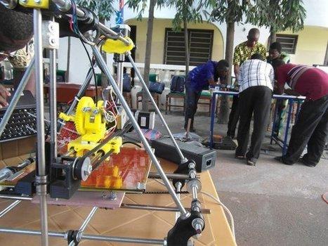 Un Togolais crée une imprimante 3D grâce à des déchets électroniques   L'industrie de l'économie verte et durable all around the world!   Scoop.it