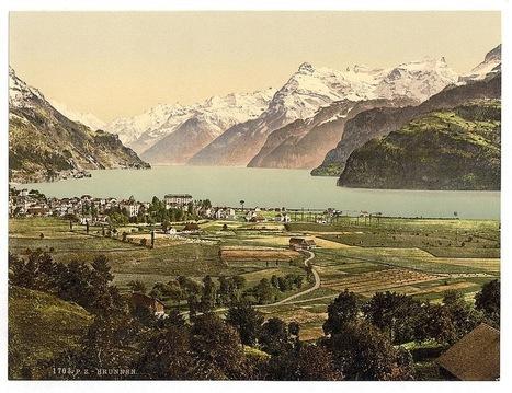 Dreamy Early-20th-Century Photochroms of Scenery in the Swiss Alps | Fotografía  Historia  Archivo | Scoop.it