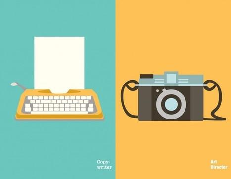 Les 16 différences entre un Concepteur-Rédacteur et un Directeur Artistique | Graphic Design | Scoop.it