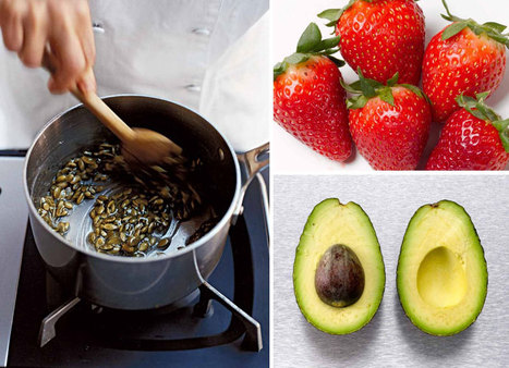 Time to shine: 11 foods to make your skin glow gallery | @FoodMeditations Time | Scoop.it