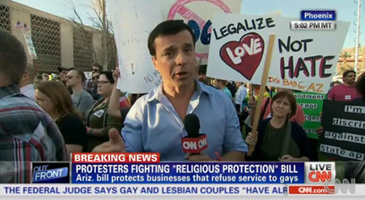 Phoenix and Tucson Stage Major Protests Against Anti-Gay Bill: VIDEO | Daily Crew | Scoop.it