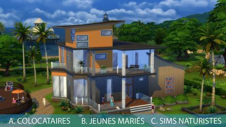 Les Sims 4 : Colocataires, jeunes mariés ou naturistes ? << SimCookie | jjArcenCiel | Scoop.it