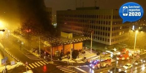 La bibliothèque municipale de Lausanne en feu - 20 minutes.ch   A la découverte des bibliothèques : Lyon - Genève - Lausanne   Scoop.it