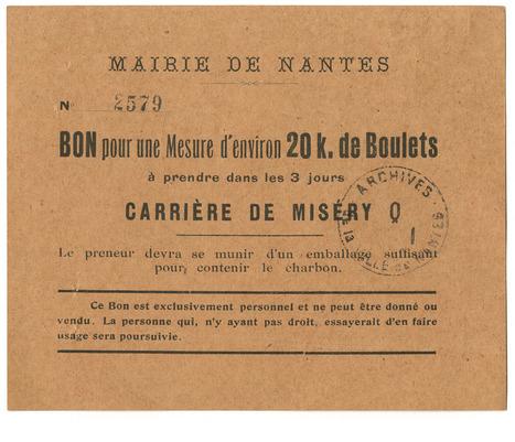 Recto-verso : «Les petits papiers» de Nantes à Rennes – [Les Archives municipales de Nantes] | Histoire 2 guerres | Scoop.it