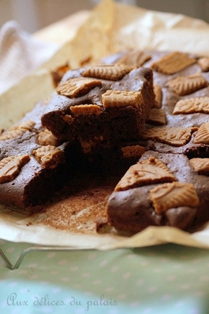 Brownie au spéculoos (recette facile) | Gâteaux algériens modernes & traditionnels | Scoop.it
