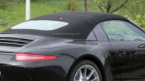 Spotted: 2014 Porsche 911 Targa Returns to Tradition - Automobile Magazine | The World of Porsche 911 | Scoop.it