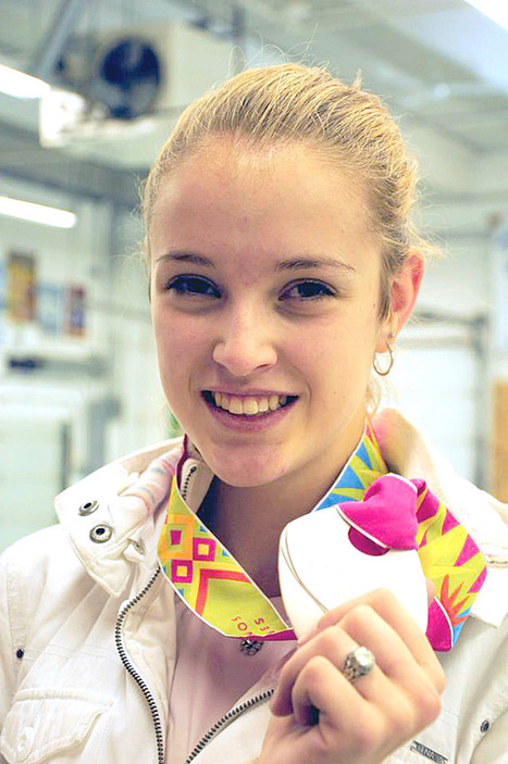 Calgary's Avenue blog on Alanna Goldie who won Silver at the 2011 Pan Am Games! | Fencing for ALL | Scoop.it