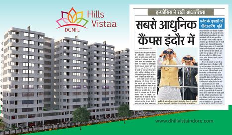 Infosys Is In Indore - Mr. Narayana Murthy laid the Foundation Stone. DCNPL Hills Vistaa Indore, A RealEstate Residential Township Property in Indore near SuperCorridor having 2, 3 & 4 BHK flats ap... | Property in Indore | Scoop.it