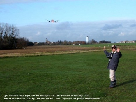 Rana commented on Jean-Louis Naudin's blog post 'ArduCopter V2 in Action - Full navigation in AUTO mode' | Arduino Focus | Scoop.it