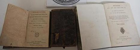 Recuperan varias obras literarias de los siglos XVIII y XIX - La Voz Digital (Cádiz)   Documentos antiguos   Scoop.it